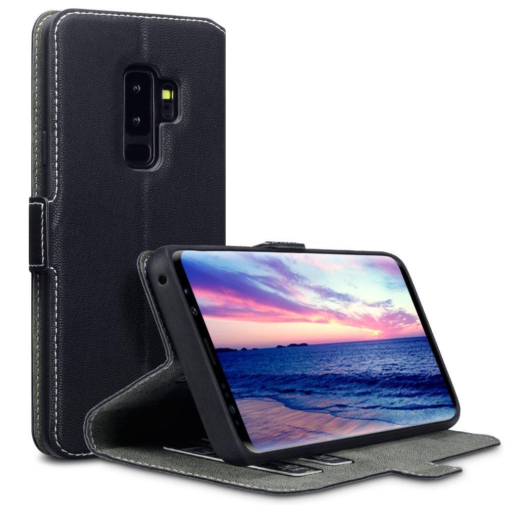 Terrapin Θήκη - Πορτοφόλι Samsung Galaxy S9 Plus - Black (117-002a-038)