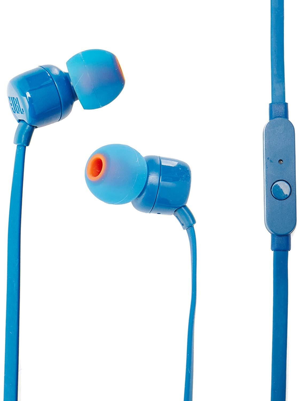 JBL Tune 110 Handsfree Ακουστικά - Blue (JBLT110BLU)