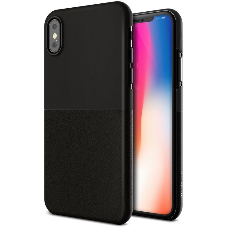VRS Design Θήκη Skin Fit iPhone X / XS - Black (VRSIP8-SKFBK )