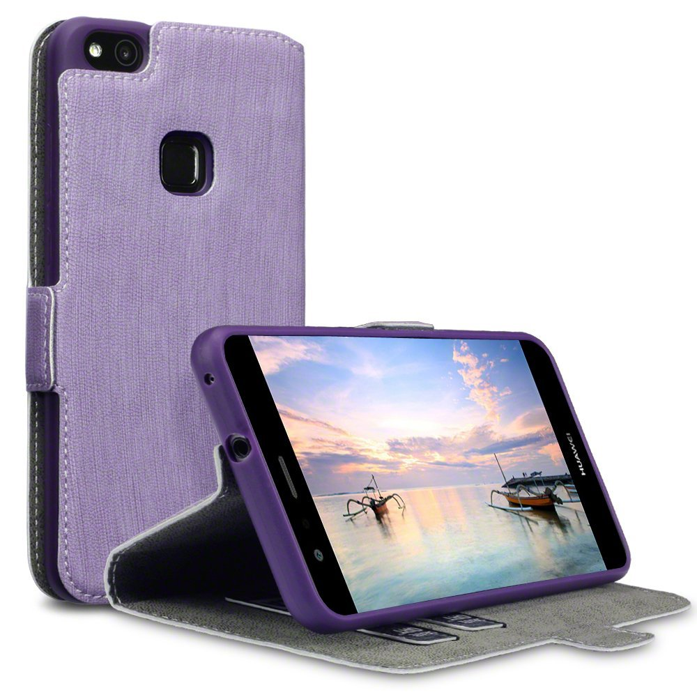 Terrapin Θήκη Πορτοφόλι Huawei P10 Lite - Purple (117-083-130)