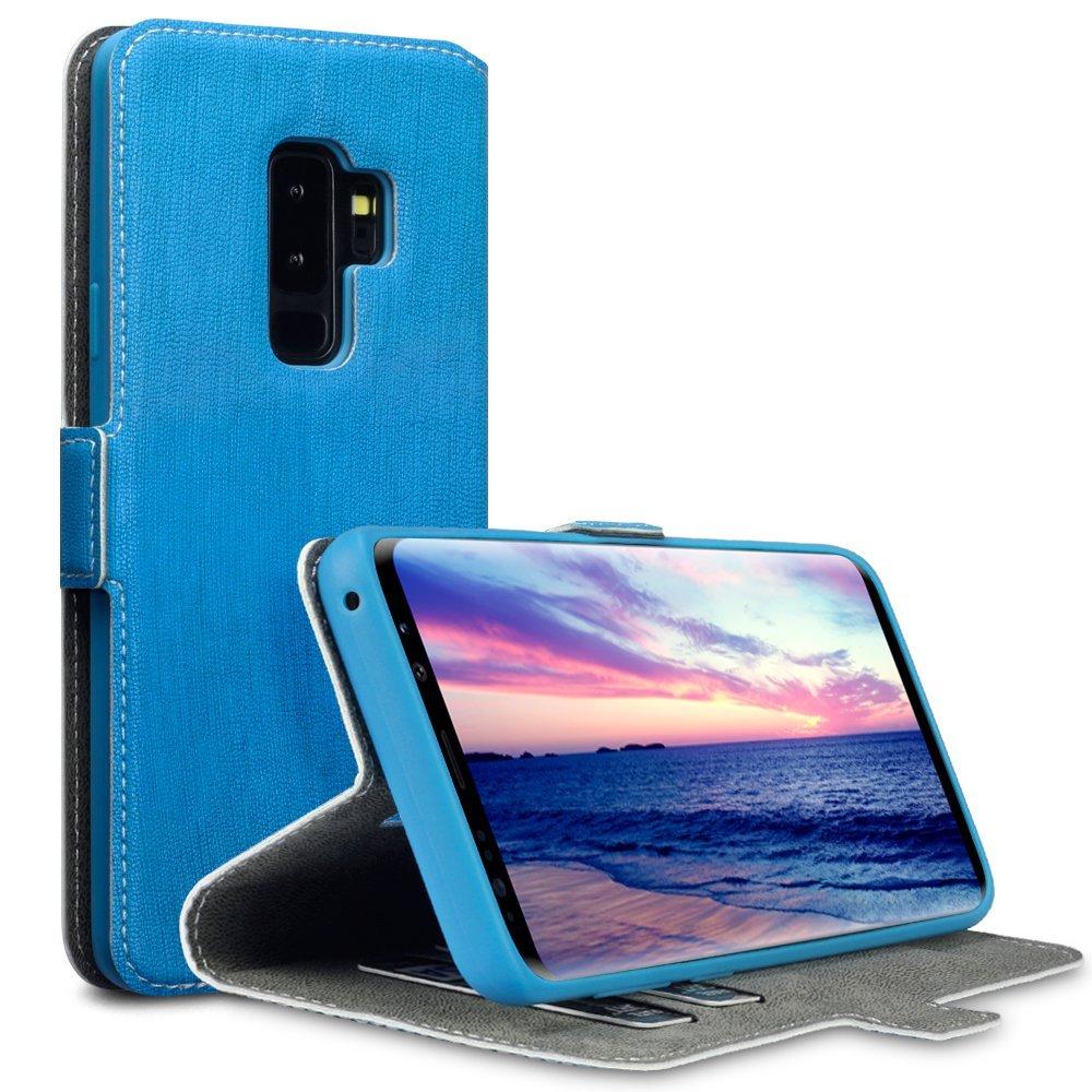 Terrapin Θήκη Πορτοφόλι Samsung Galaxy S9 Plus - Light Blue (117-002a-040)