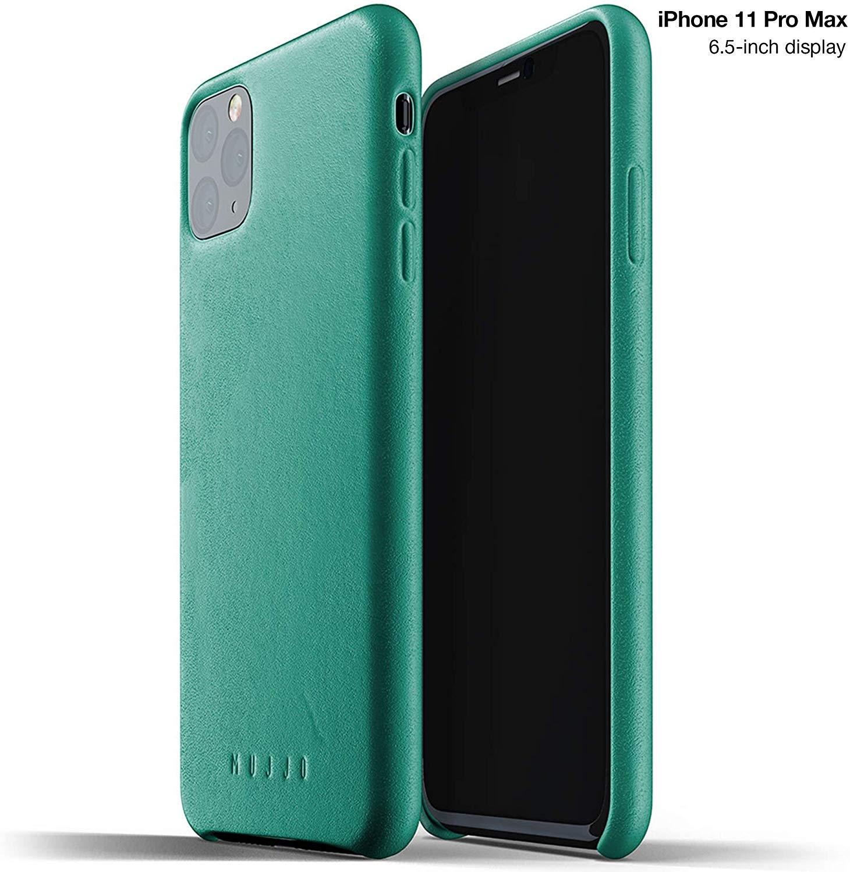 MUJJO Full Leather Case - Δερμάτινη Θήκη iPhone 11 Pro Max - Alpine Green (MUJJO-CL-003-GR)