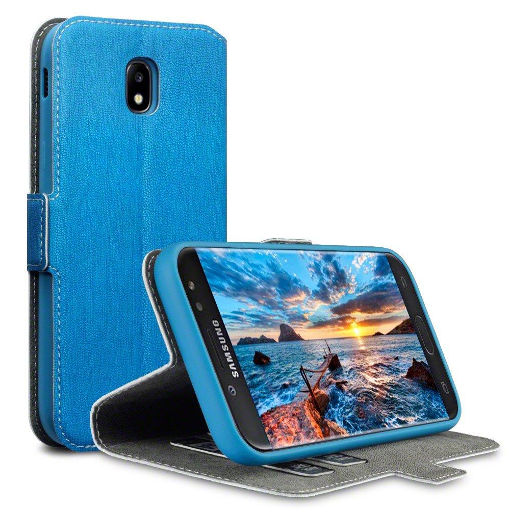 Terrapin Θήκη Πορτοφόλι Samsung Galaxy J5 2017 (Version J530F) - Blue (117-002-996)