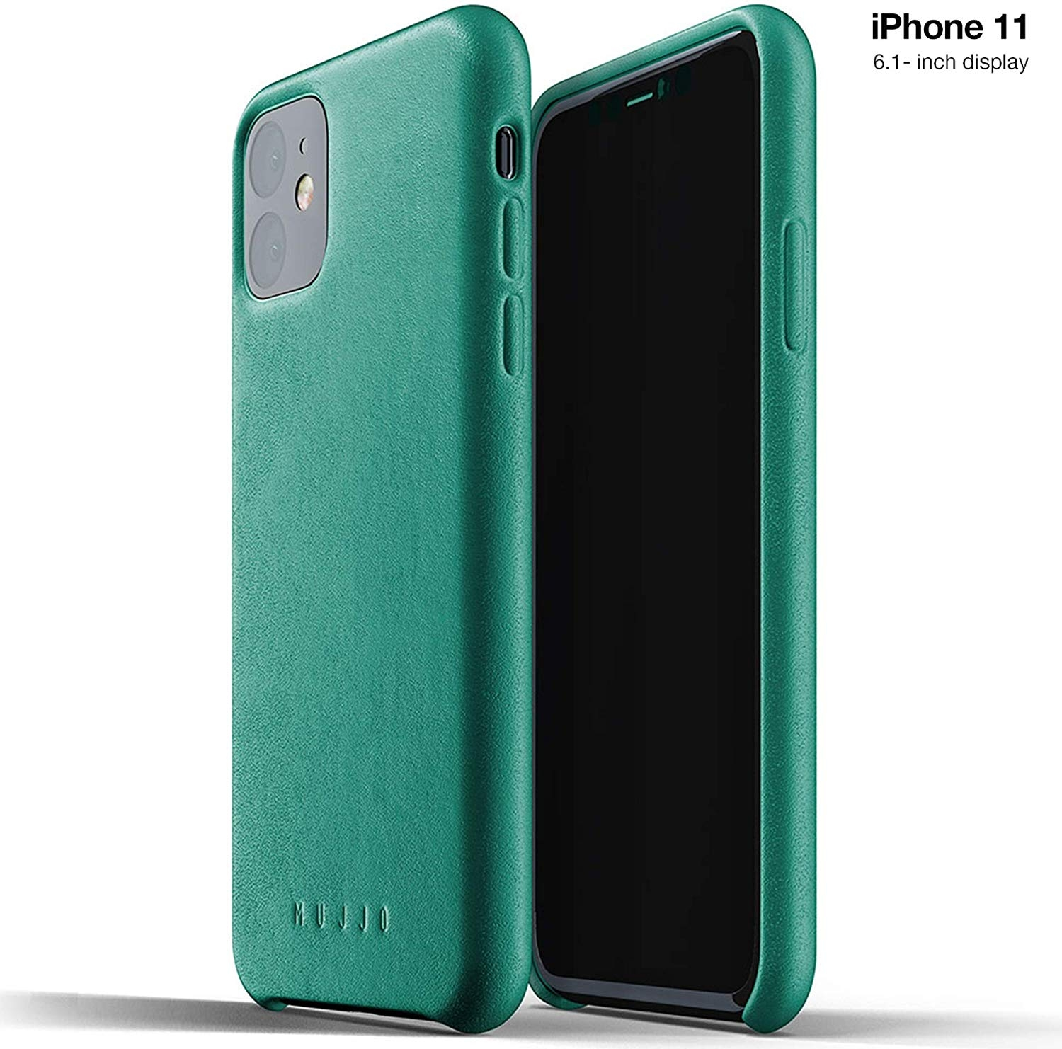 MUJJO Full Leather Case - Δερμάτινη Θήκη iPhone 11 - Alpine Green (MUJJO-CL-005-GR)