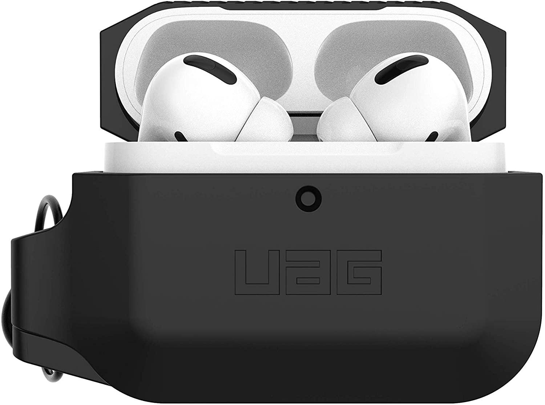 UAG Rugged Weather Proof Airpod Protection - Θήκη Σιλικόνης Apple Airpods Pro - Black (10225K114040)
