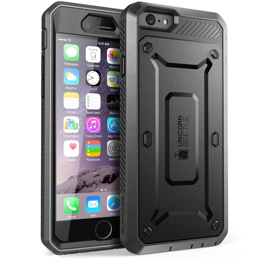 Supcase Ανθεκτική Θήκη Unicorn Beetle Pro iPhone 6 Plus/6S Plus - Black