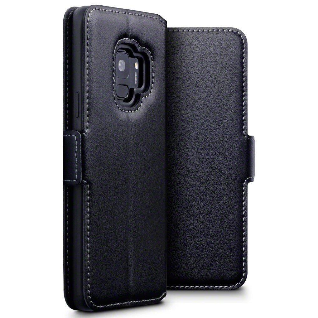 Terrapin Low Profile Δερμάτινη Θήκη - Πορτοφόλι Samsung Galaxy S9  - Black (117-002a-043)