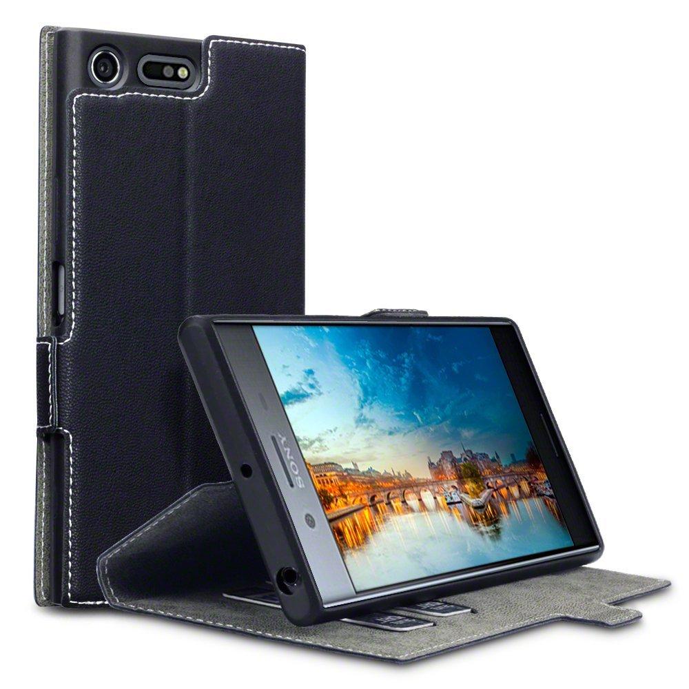 Terrapin Θήκη Πορτοφόλι Sony Xperia XZ Premium - Black (117-005-479)