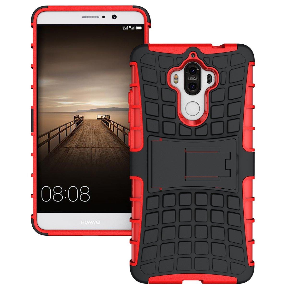 Ανθεκτική Θήκη με Stand Huawei Mate 9 - Red - ΟΕΜ (10921) default category