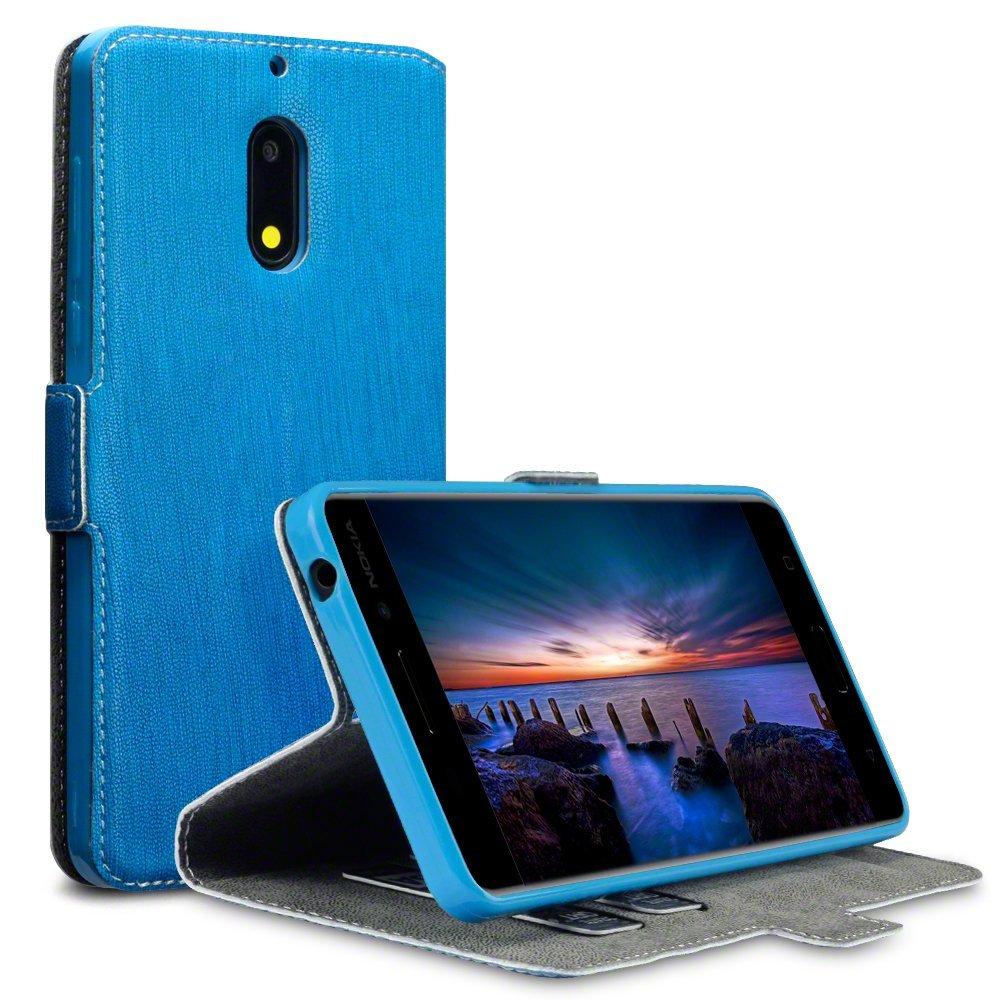 Terrapin Θήκη Πορτοφόλι Nokia 6 - Blue (117-001-265)