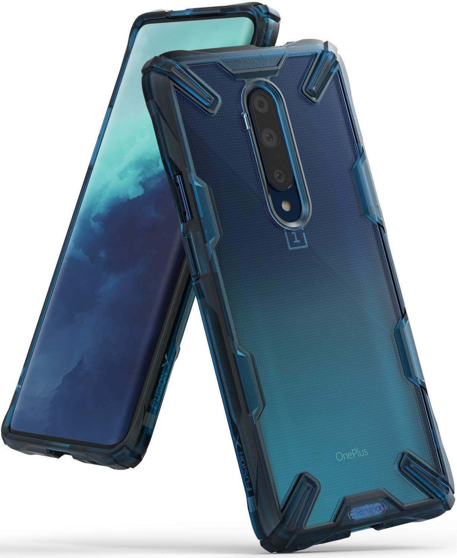 Ringke Fusion X Θήκη Σιλικόνης OnePlus 7T Pro - Space Blue (59481)