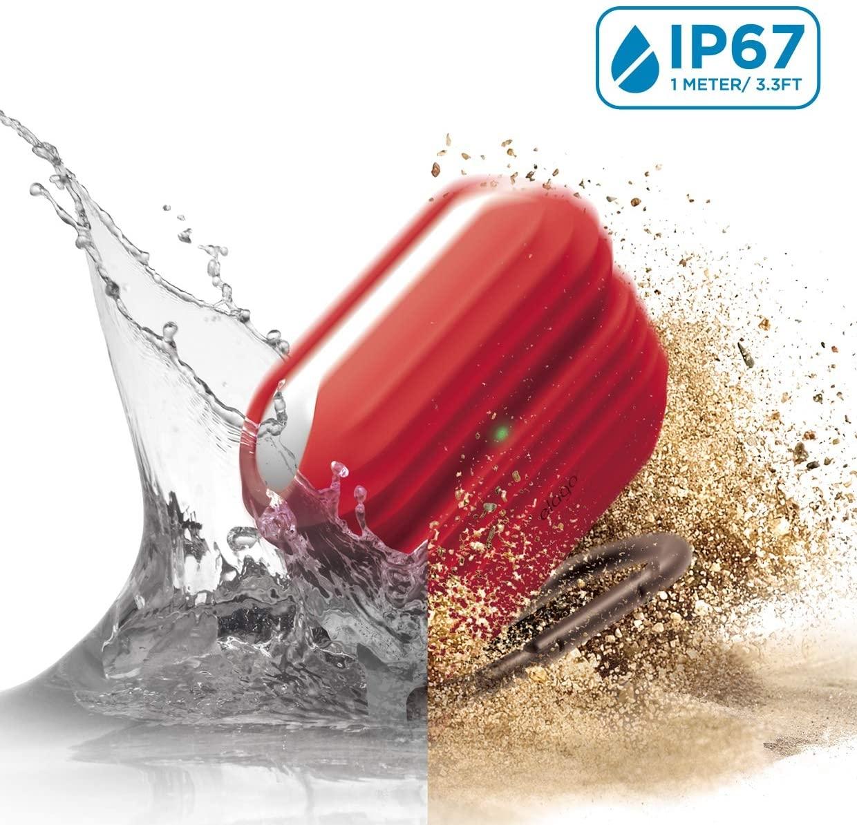 Elago AirPods Pro Waterproof Hang Case - Αδιάβροχη Θήκη για AirPods Pro IP67 - Red (EAPPWF-HANG-RD)