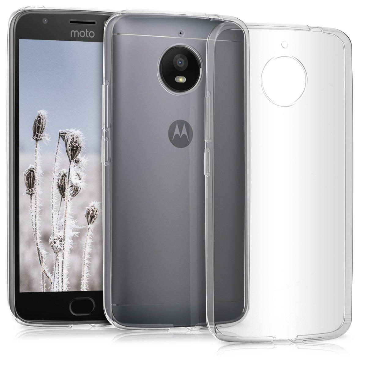 KW Διάφανη Θήκη Σιλικόνης Motorola Moto E4 Plus - Clear (42354.03)