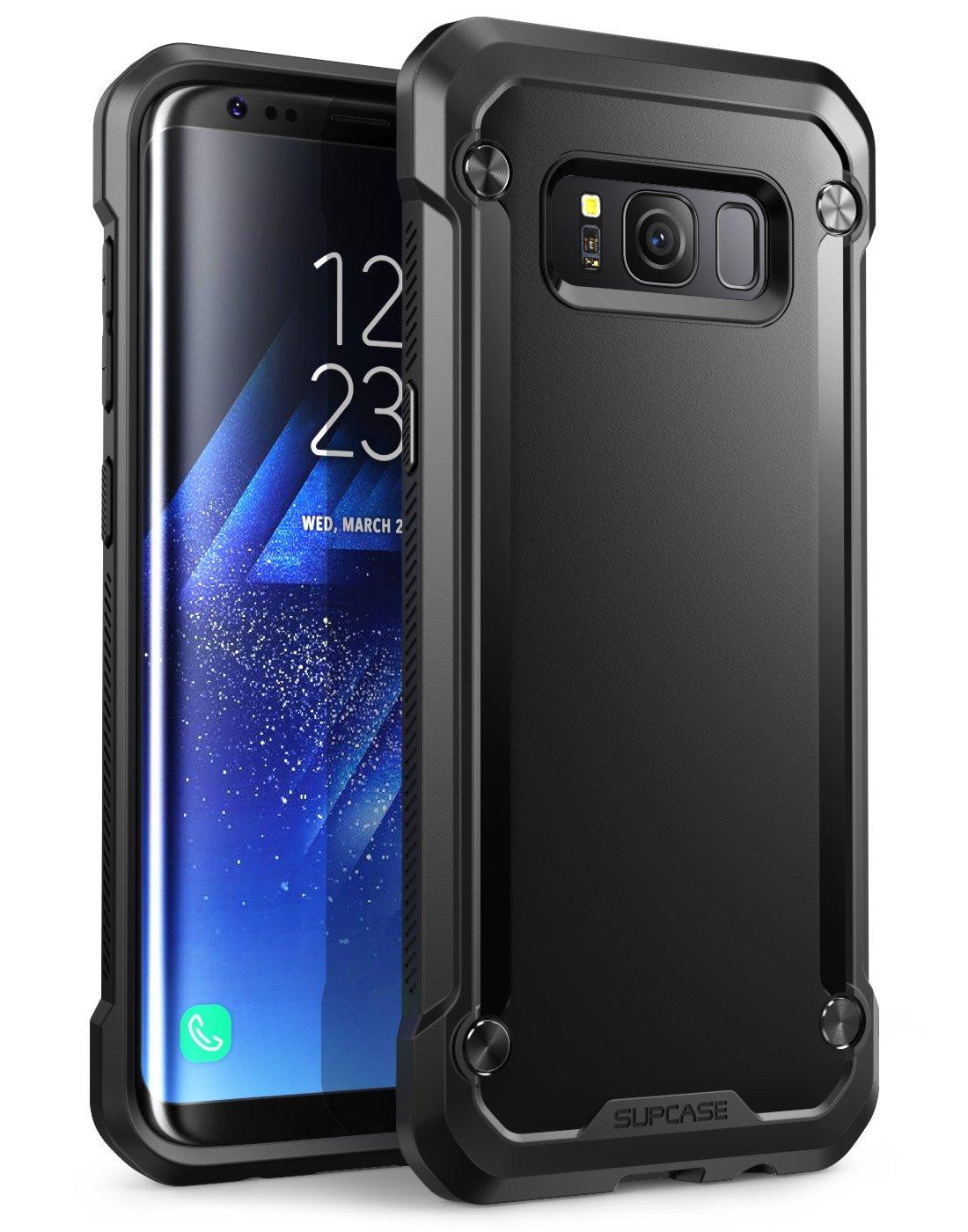 Supcase Ανθεκτική Θήκη Unicorn Beetle Premium Hybrid Samsung Galaxy S8 Plus - Black (11122)