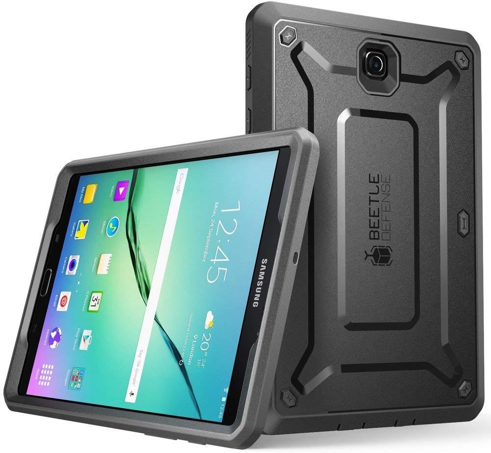 Supcase Ανθεκτική Θήκη Unicorn Beetle Pro Samsung Galaxy Tab S2 8'' - Black (SUP-Galaxy-TabS2-8-Ubpro-Black)