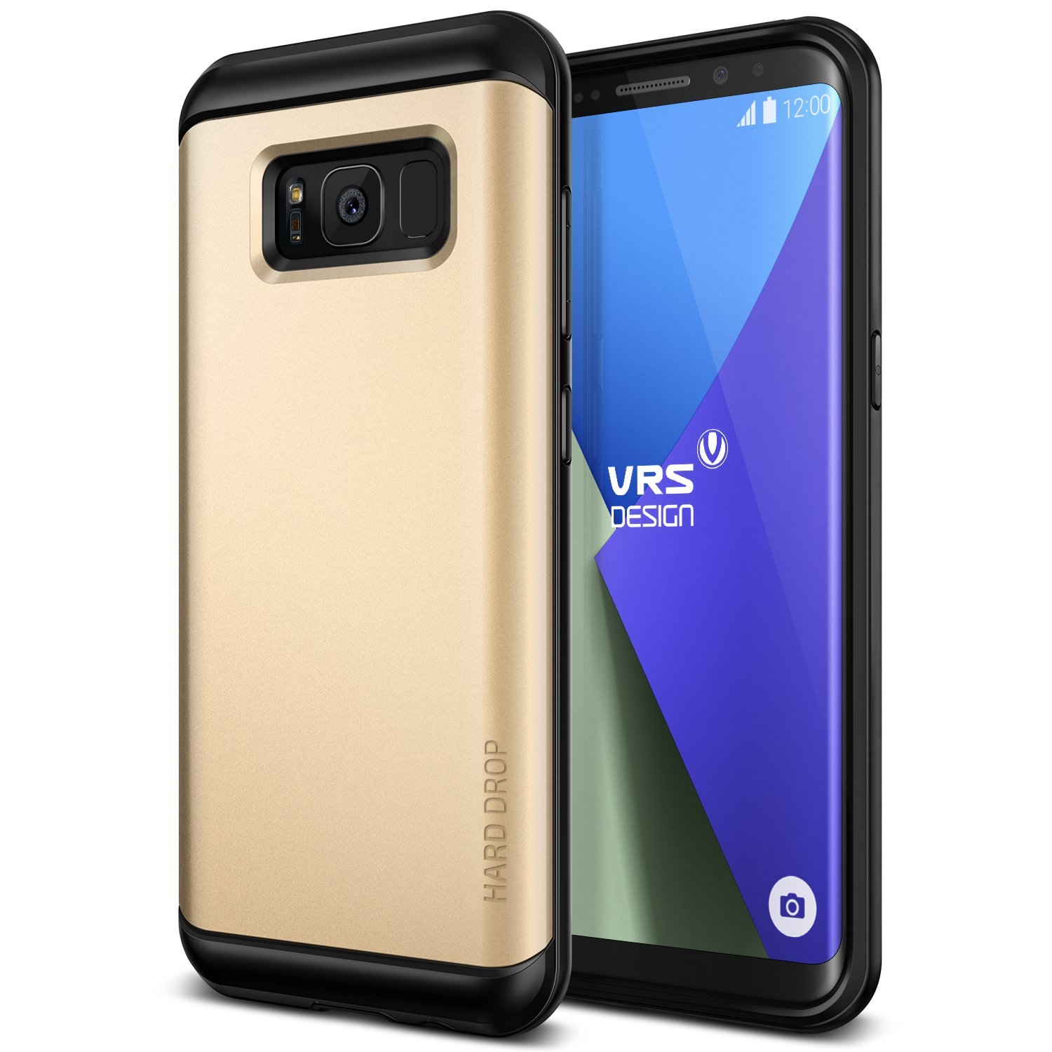 VRS Design Θήκη Hard Drop Samsung Galaxy S8 Plus - Shine Gold (10987)
