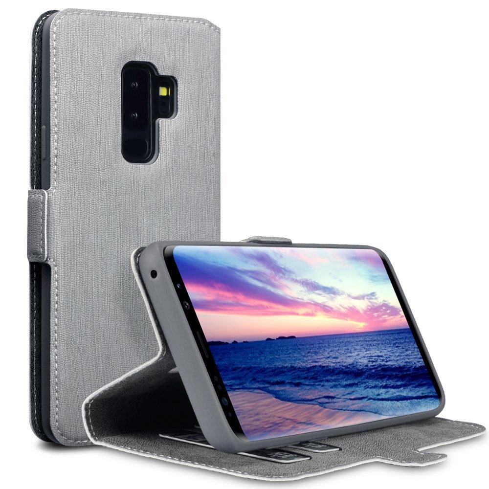 Terrapin Θήκη Πορτοφόλι Samsung Galaxy S9 Plus - Grey (117-002a-041)