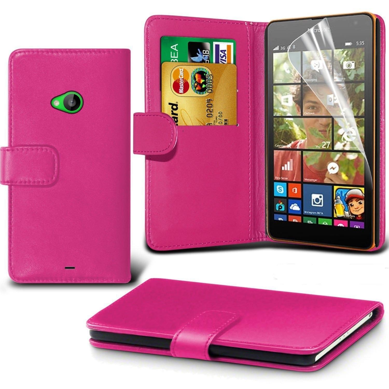Θήκη - Πορτοφόλι Microsoft Lumia 435 - Ροζ  - OEM (10751)