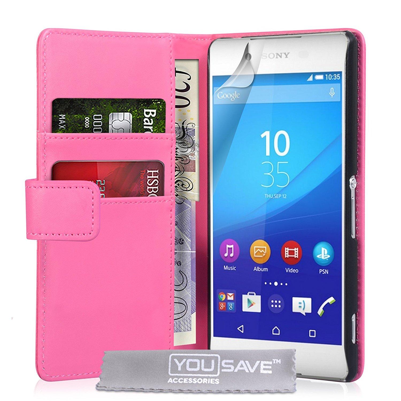 YouSave Θήκη - Πορτοφόλι Sony Xperia Z3+/Z4 - Pink (SE-HA03-Z088)