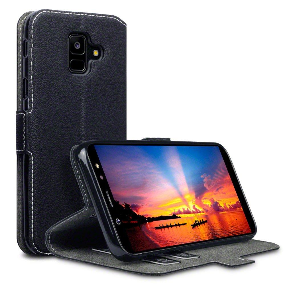 Terrapin Low Profile Thin Θήκη - Πορτοφόλι Samsung Galaxy A6 2018 - Black (117-002a-059)