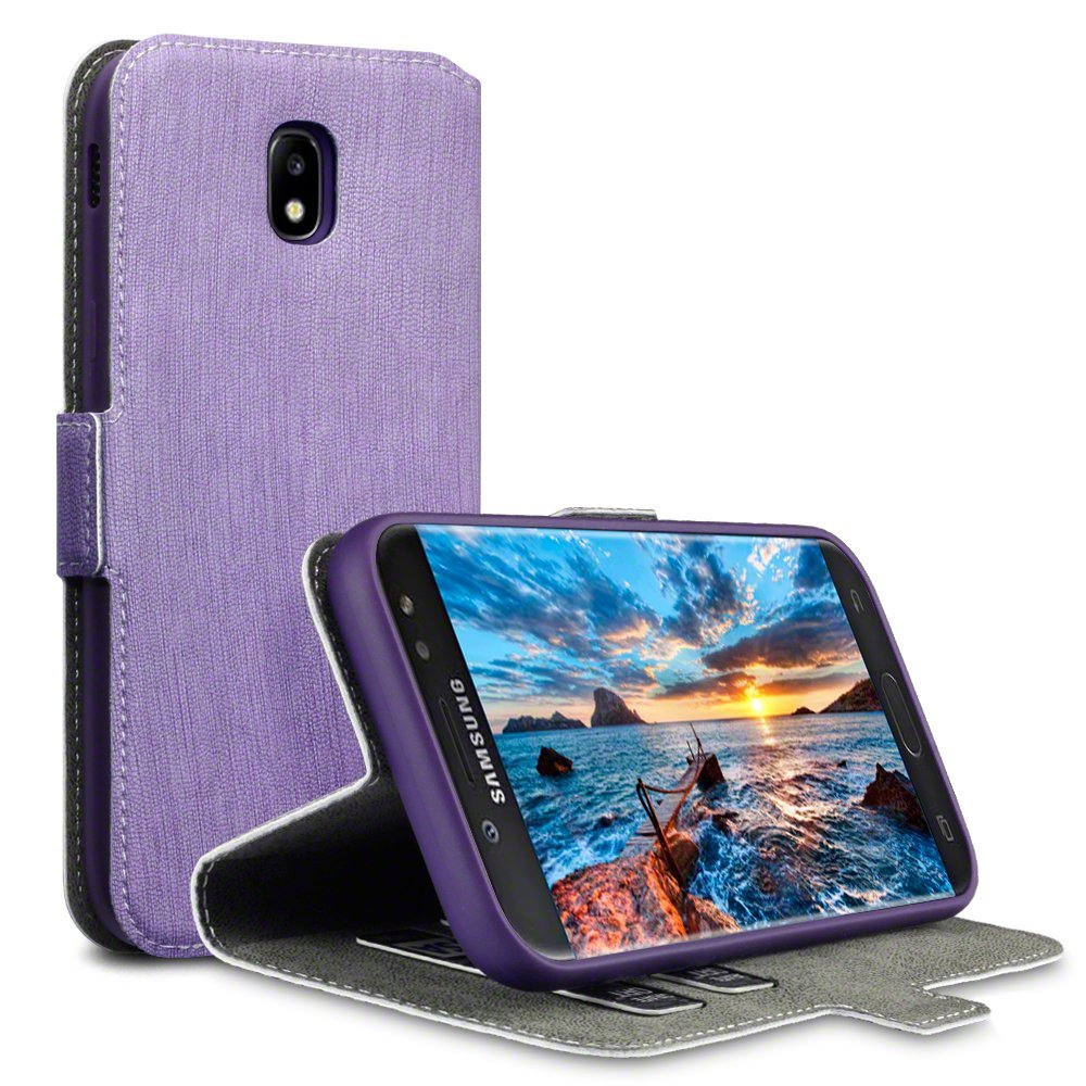 Terrapin Θήκη Πορτοφόλι Samsung Galaxy J5 2017 (Version J530F) - Purple (117-002-995)