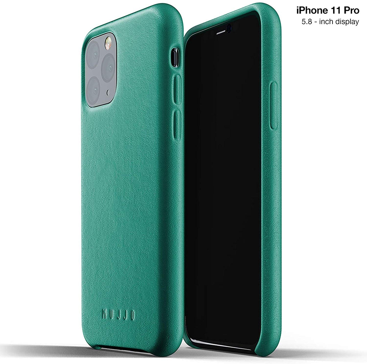 MUJJO Full Leather Case - Δερμάτινη Θήκη iPhone 11 Pro - Alpine Green (MUJJO-CL-001-GR)