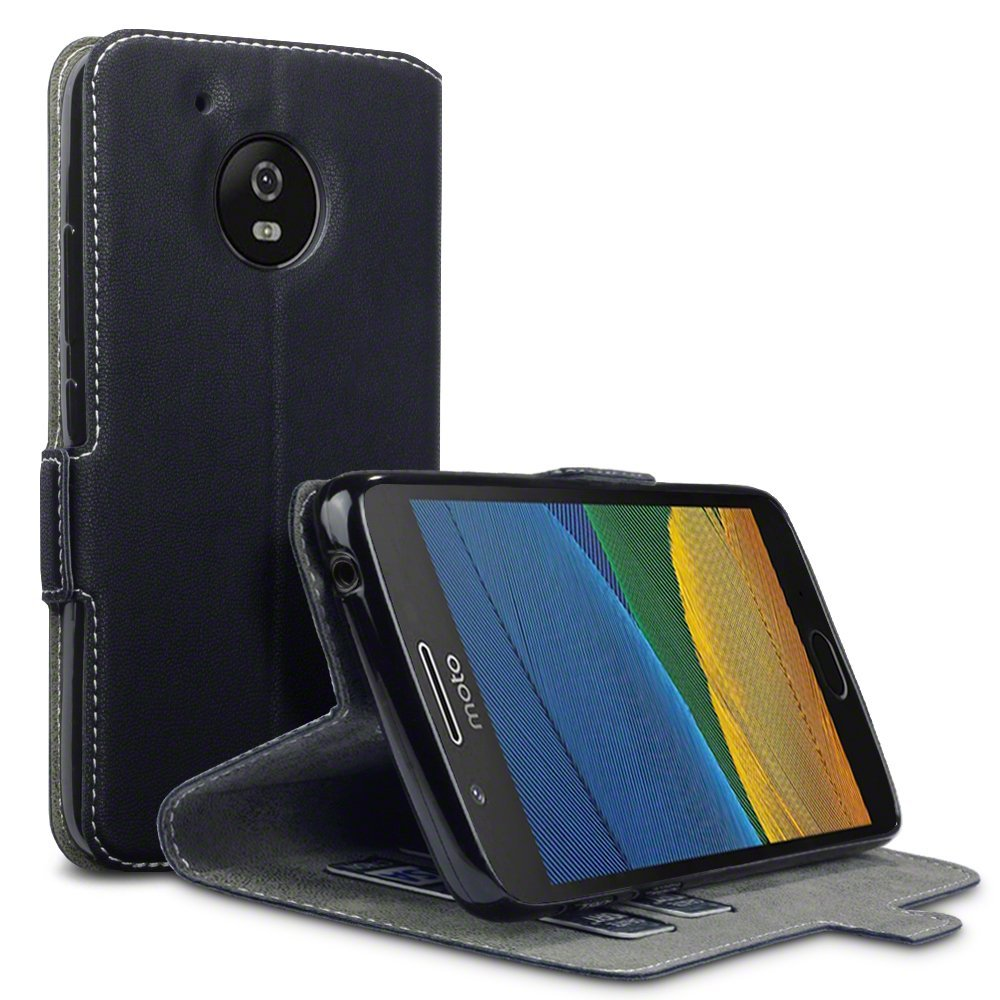Terrapin Θήκη - Πορτοφόλι Motorola Moto G5 - Black (117-003-031)
