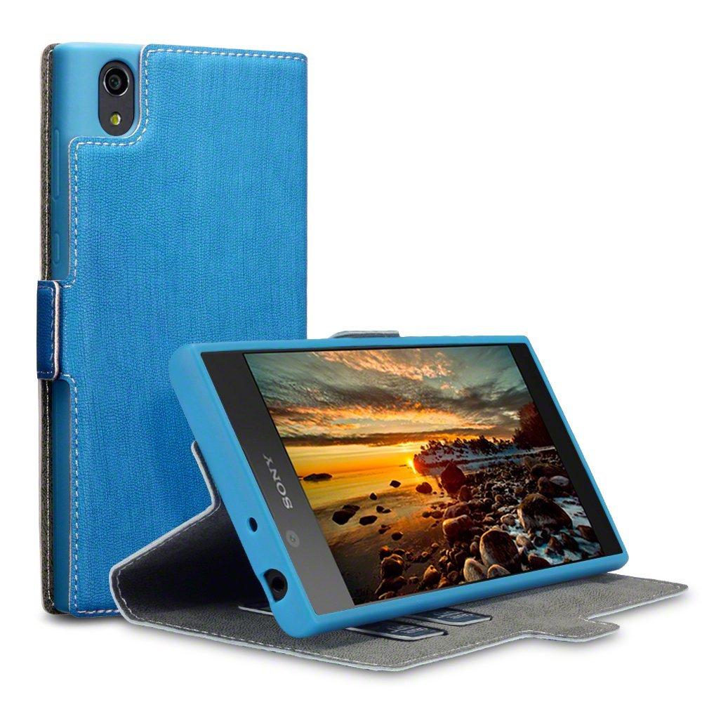 Terrapin Θήκη Πορτοφόλι Sony Xperia L1 - Light Blue (117-005-518)