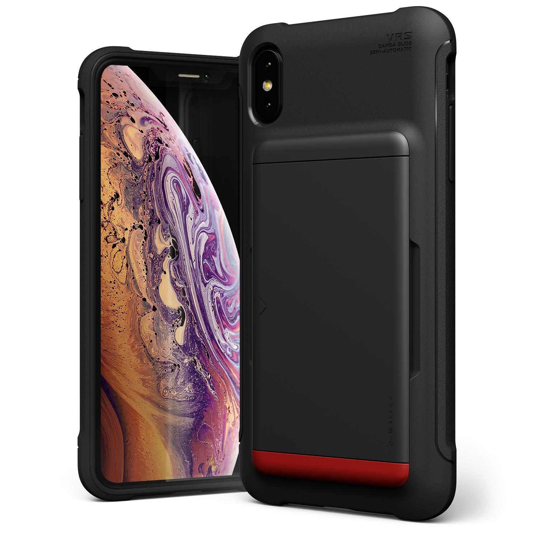 VRS Θήκη Damda Shield Series iPhone XS Max - Matte Black (VRS-IPXSM-DGS-STS )