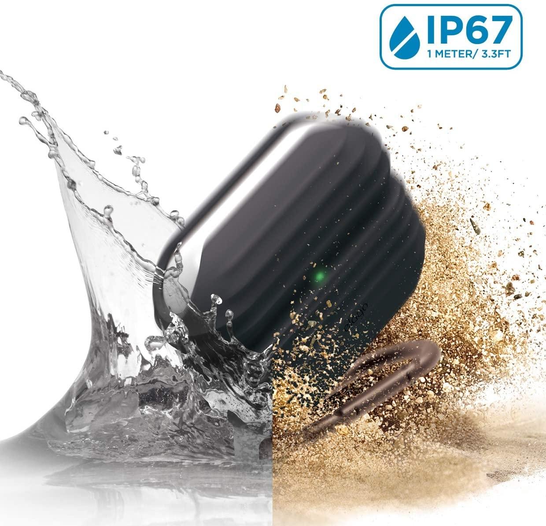 Elago AirPods Pro Waterproof Hang Case - Αδιάβροχη Θήκη για AirPods Pro IP67 - Black (EAPPWF-HANG-BK)