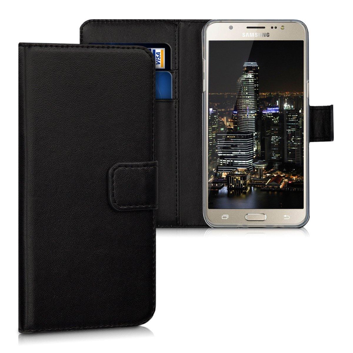 KW Θήκη Πορτοφόλι Samsung Galaxy J5 (2016) - Black (39806.01)