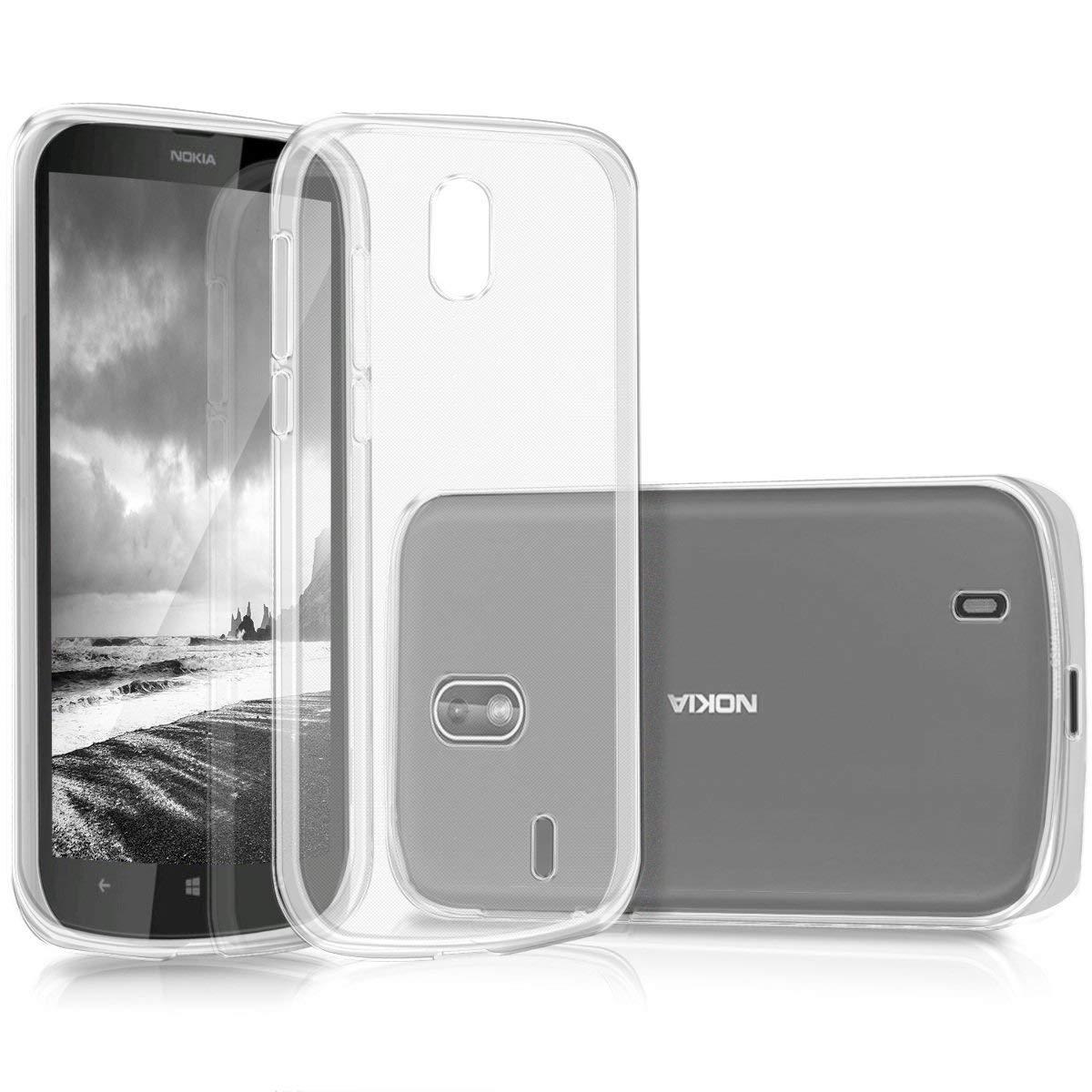 KW Διάφανη Θήκη Σιλικόνης Nokia 1 - Clear (44501.03)