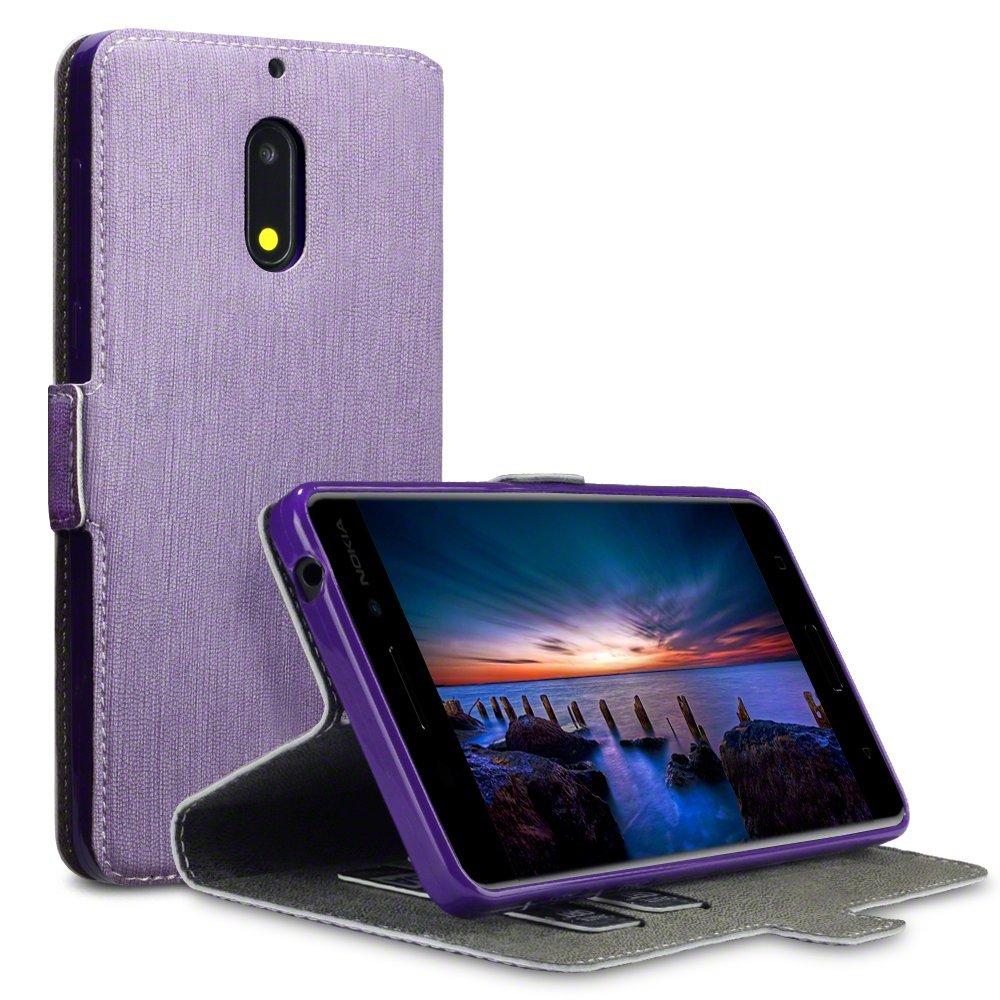 Terrapin Θήκη Πορτοφόλι Nokia 6 - Purple (117-001-264)