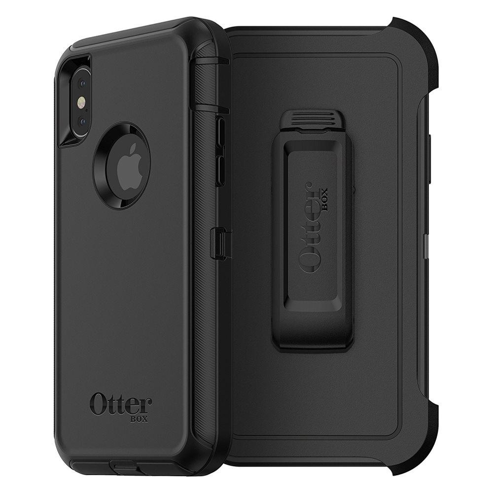 Otterbox Defender Ανθεκτική Θήκη iPhone X/XS - Black (77-57026)