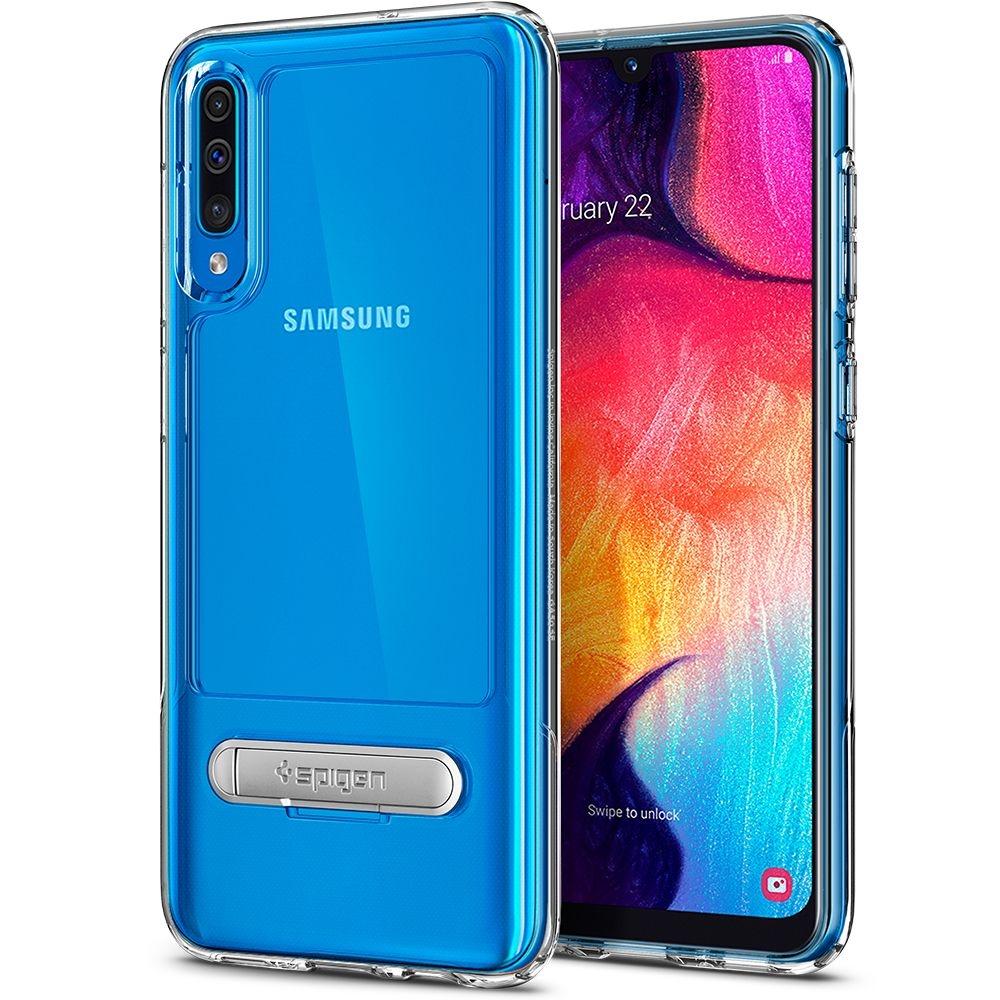 Spigen Θήκη Slim Armor Essential S Samsung Galaxy A50s / A30s / A50 - Crystal Clear (ACS00388)