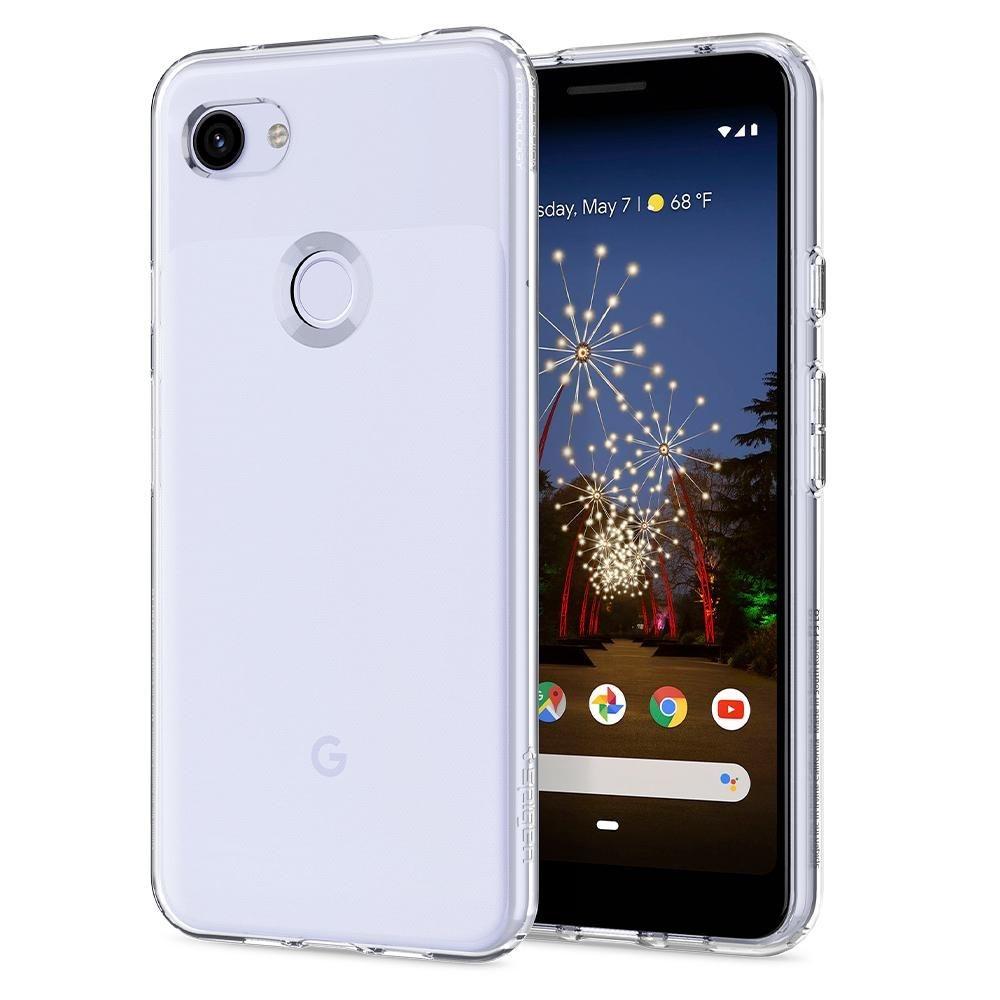 Spigen Θήκη Rugged Armor Google Pixel 3a XL - Crystal Clear (F22CS25958)