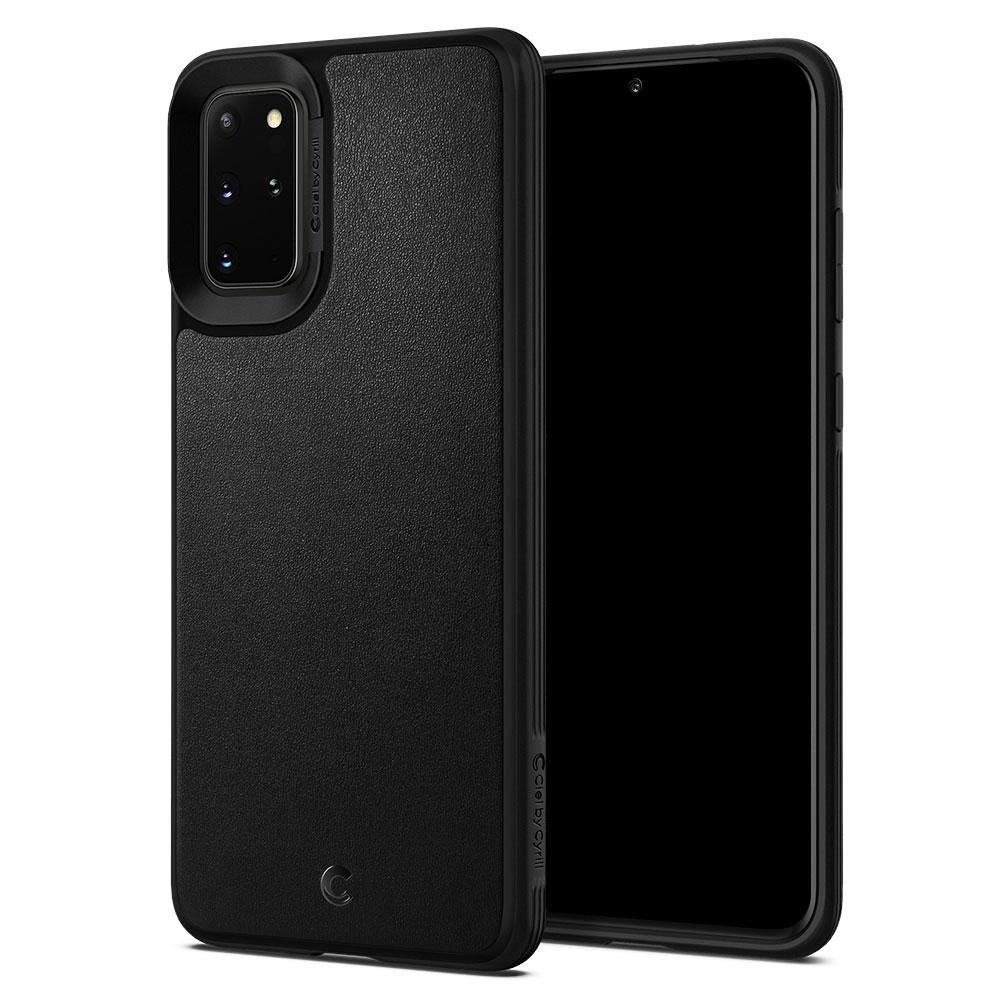 Spigen Θήκη Ciel Leather Brick Samsung Galaxy S20 Plus - Black (ACS00770)