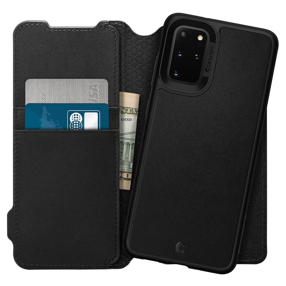 Spigen Θήκη Ciel Wallet Brick Samsung Galaxy S20 Plus - Black (ACS00773)