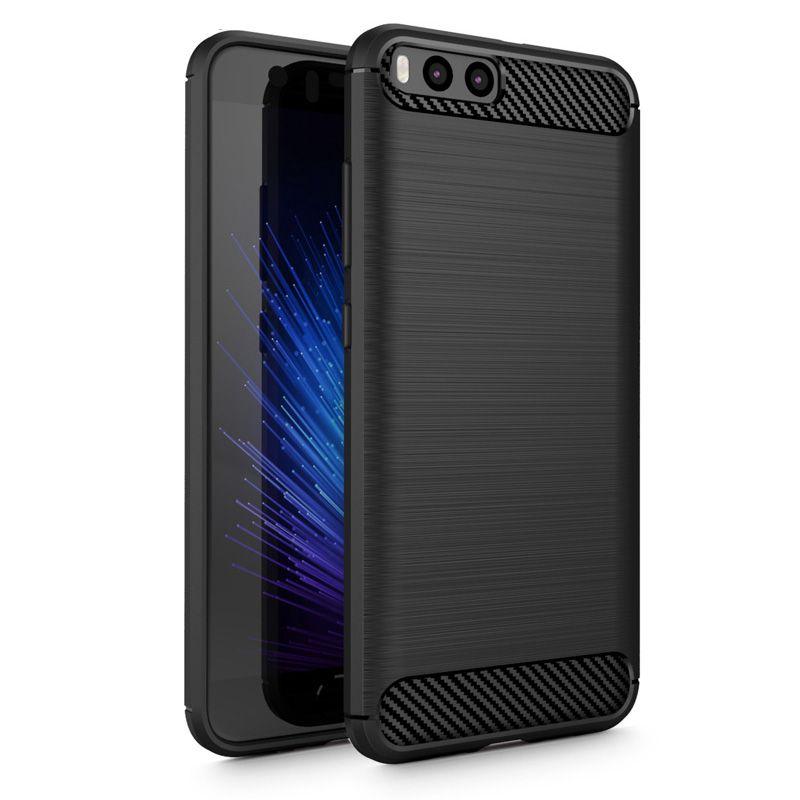 Θήκη TPU Carbon Xiaomi Mi 6 - Black - OEM (10818)
