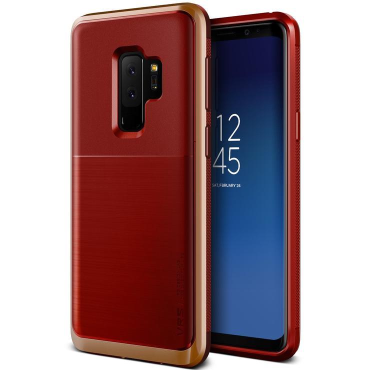 VRS Design Θήκη High Pro Shield Series Samsung Galaxy S9 Plus  - Red Blush Gold (VRSGS9P-HPSRD)