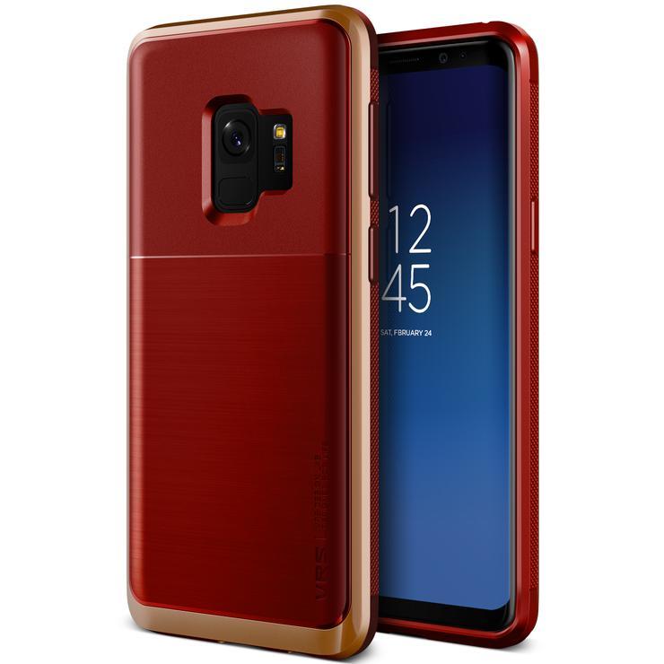 VRS Design Θήκη High Pro Shield Series Samsung Galaxy S9  - Red Blush Gold (VRSGS9-HPSRD)
