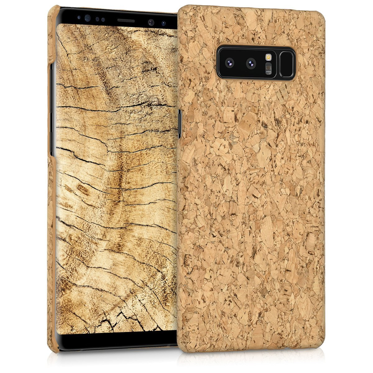 KW Σκληρή Θήκη Samsung Galaxy Note 8 - Light Brown Cork (42845.24)