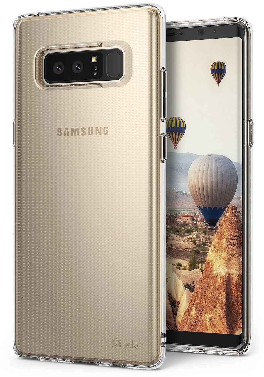 Ringke Air Θήκη Σιλικόνης Samsung Galaxy Note 8 - Clear (RGK462CL)