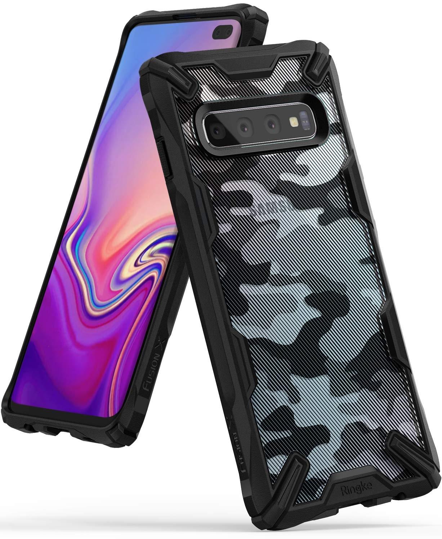 Ringke Fusion-X Θήκη Samsung Galaxy S10 Plus - Camo Black (46101)