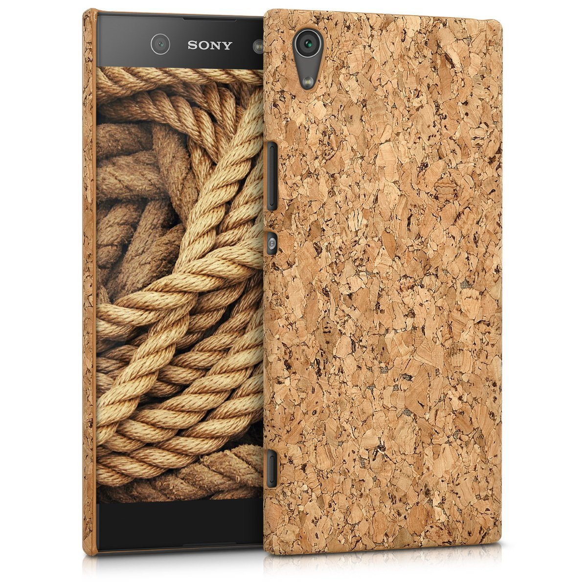 KW Σκληρή Θήκη Sony Xperia XA1 Ultra - Light Brown Cork (42642.24)