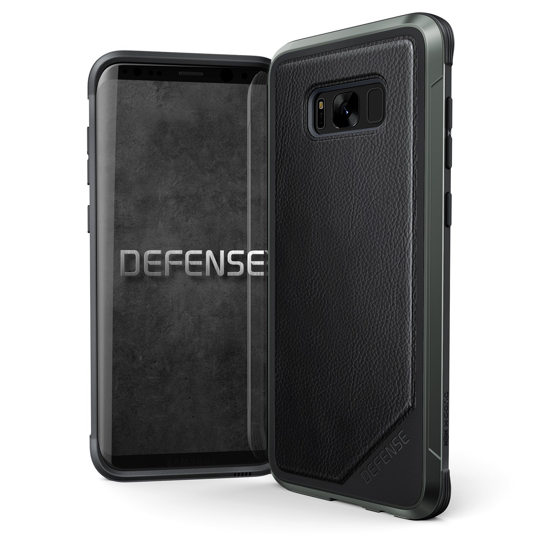 X-Doria Defense Lux Θήκη Samsung Galaxy S8 Plus - Black Leather (XD456708)