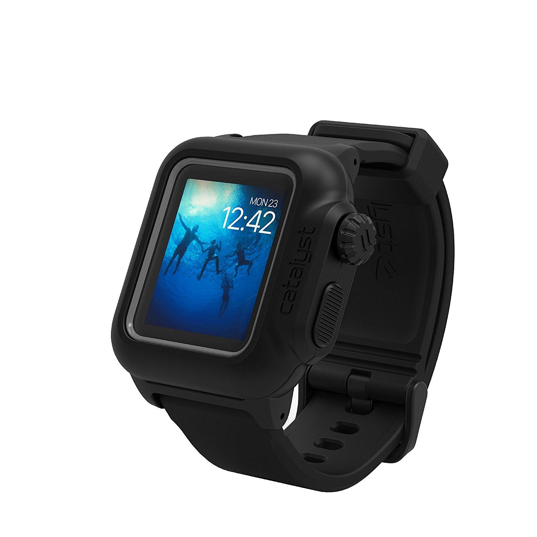 Catalyst Αδιάβροχη Θήκη Apple Watch 42mm Series 2 - Stealth Black (CAT42WAT2BLK)