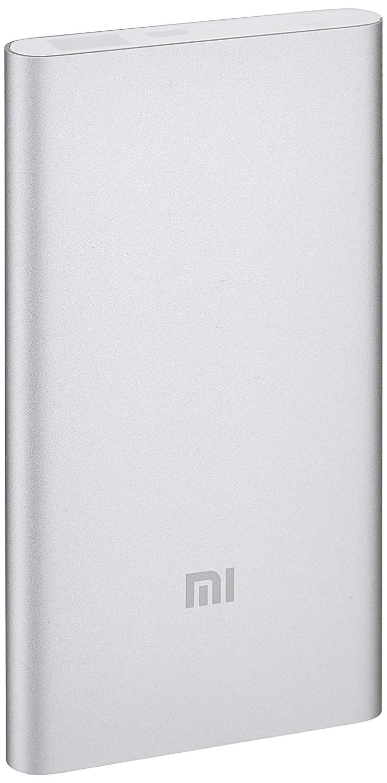 Xiaomi Mi Powerbank Φορητή Μπαταρία Φόρτισης - 5000mAh - Silver (NDY-02-AM)