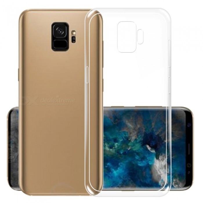 RedShield Διάφανη Θήκη Σιλικόνης & Full Body Tempered Glass Samsung Galaxy S9 - Black (RSHIGELLY36GLASS3DBK)