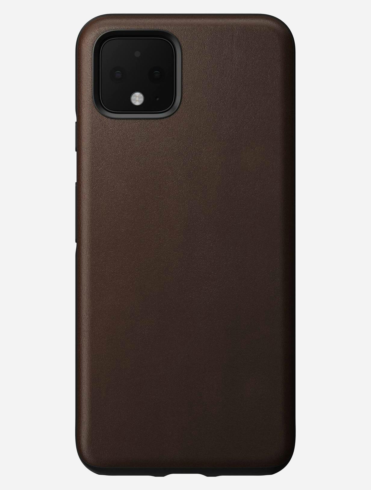 Nomad Δερμάτινη Rugged Θήκη Google Pixel 4 - Rustic Brown (NM2TRR0100)